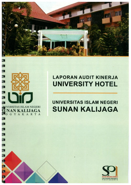 Laporan Audit Kinerja University Hotel Tahun 2016