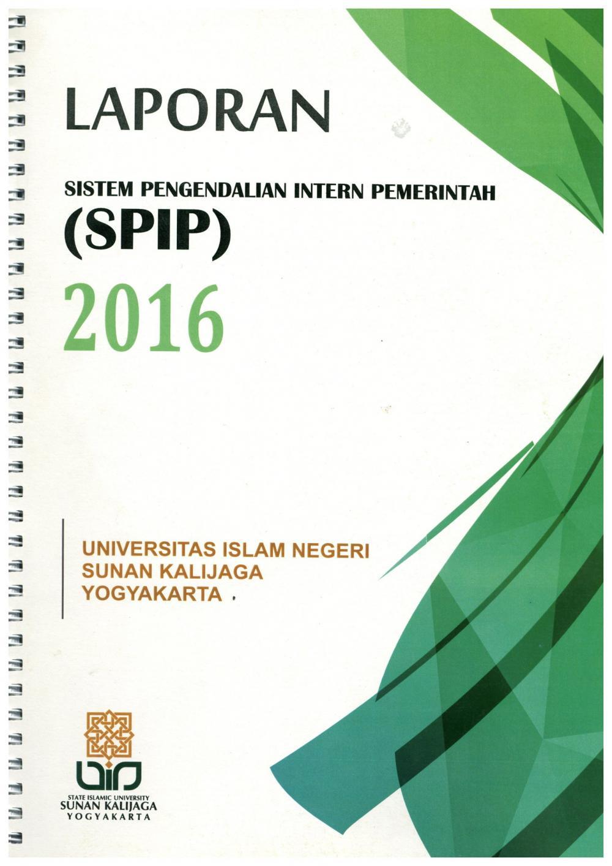 Laporan Sistem Pengendalian Intern Pemerintah (SPIP) Tahun 2016